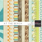 At The Beach Papers Kit