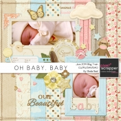 Oh Baby, Baby-June 2014 Blog Train Mini Kit