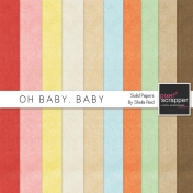 Oh Baby, Baby Solid Papers Kit