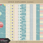 Space Explorer Papers Kit