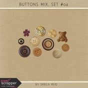 Button Mix Set #04 Kit