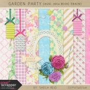 Garden Party Aug. 2014 Blog Train Mini Kit