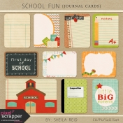 School Fun Journal Cards Kit