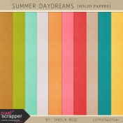 Summer Daydreams Solid Papers Kit