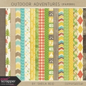 Outdoor Adventures Papers Kit