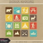 Outdoor Adventures Recreational Icon Woodchips Kit