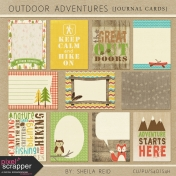 Outdoor Adventures Journal Cards Kit