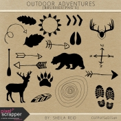 Outdoor Adventures Brushes/PNG's Kit