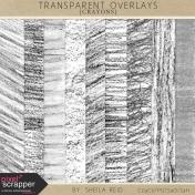 Transparent Overlays- Crayons