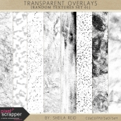 Transparent Overlays- Random Textures Set 01