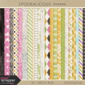 Spookalicious Papers Kit