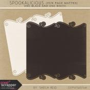 Spookalicious Fun Page Mattes Kit