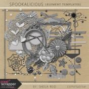 Spookalicious Element Templates Kit
