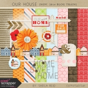 Our House November 2014 Blog Train Mini Kit