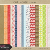 Our House Collab Papers Kit