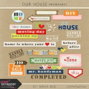 Our House Collab Word Art Kit