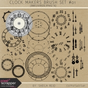 Clock Makers Brush Set #01