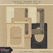 Vintage Frames Set 01