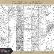 Vintage Map Overlays Kit