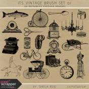Its Vintage Brush Set 01