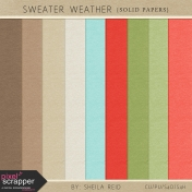Sweater Weather Solid Papers Kit
