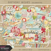 Birthday Wishes Elements Kit