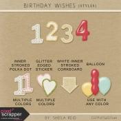 Birthday Wishes Styles Kit