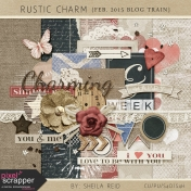 Rustic Charm February 2015 Blog Train Mini Kit