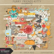 Furry Friends- Kitty Elements Kit