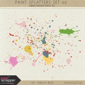 Paint Splatters Set 03 Kit