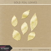 Gold Foil Leaves Kit