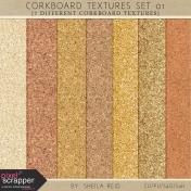 Corkboard Textures Set 01