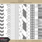 Shine Overlay/Paper Templates Kit