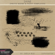 Shine Photo Masks And Paint Templates Kit