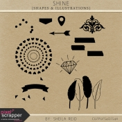 Shine Shapes And Illustrations Kit