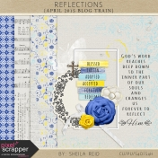 Reflections April 2015 Blog Train Mini Kit