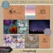 Cozy Day Journal Cards Vol. 2
