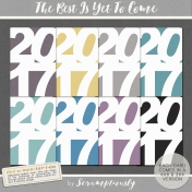 The Best Is Yet To Come 2017 Journal Cards