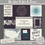 The Best Is Yet To Come 2017 Journal Cards Set 1