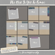 The Best Is Yet To Come 2017 Frame Cards