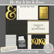 The Best Is Yet To Come 2017 Journal Cards Set 2