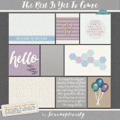 The Best Is Yet To Come 2017 Journal Card Set 3