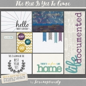 The Best Is Yet To Come 2017 Journal Card Set 4
