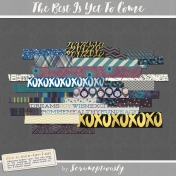 The Best Is Yet To Come 2017 Washi Tape Kit