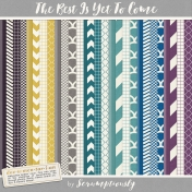 The Best Is Yet To Come 2017 Patterns and Solids Paper Pack