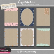 Cozy Kitchen Vine Kraft Journal Cards Kit