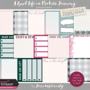 A Good Life in Pockets: January 2019 Journal Card Kit