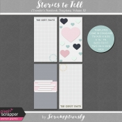 Stories To Tell- Traveler's Notebook Templates, Volume II