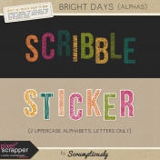 Bright Days Alphas Kit