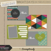 Bright Days Journal Card Template Kit